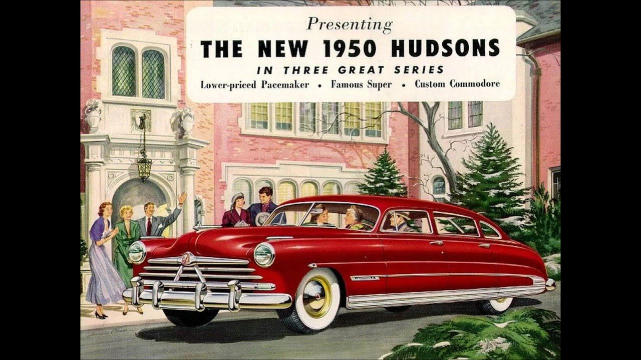 Vintage car ads 1949-1950 - YouTube