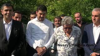 Nusaybin'de Musa Anter anma törenine, CHP Gençlik Kolları Genel Başkanı Yılmaz'da  katıldı