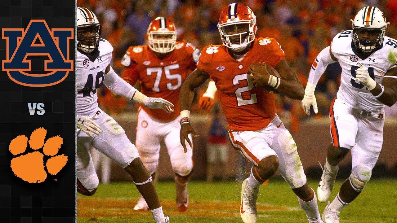 Auburn Vs. Clemson Football Highlights (2017)