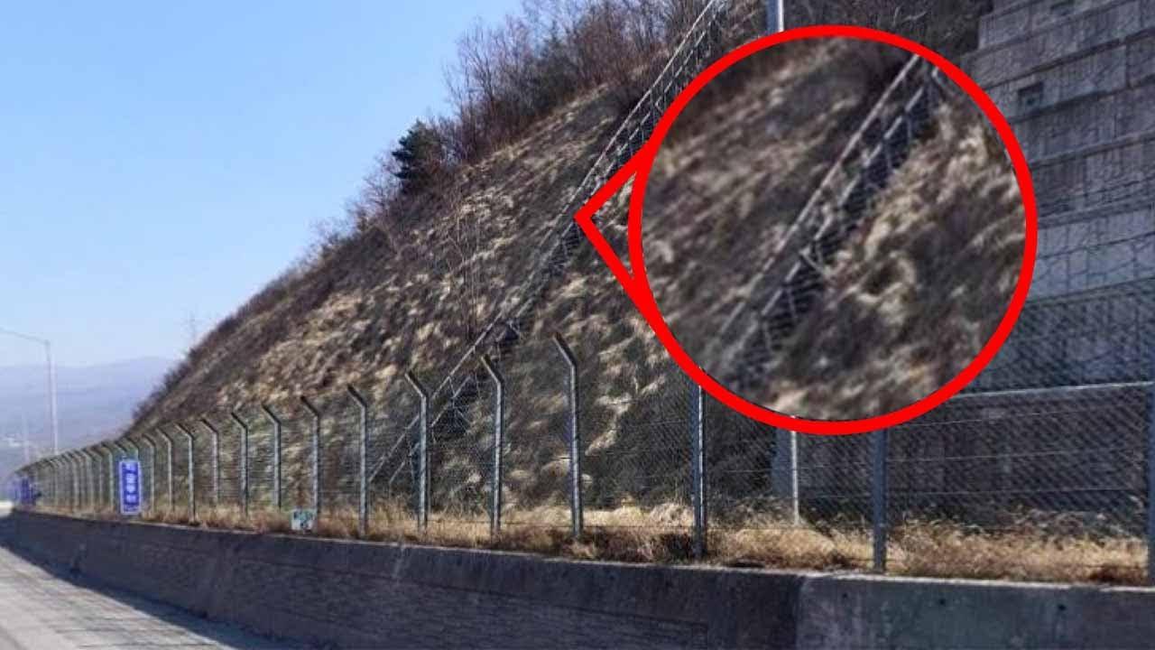 고속도로를 지날때 보이는 계단 정체가 뭘까?