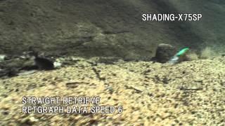 MEGABASS MOVIE #120 SHADING-X 55 & SHADING-X 75F & SHADING-X 75SP