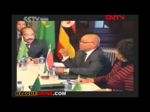 "China's CCTV Daily African News Show ""Africa Live"""