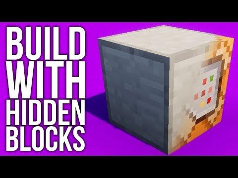 how to make secret blocks in minecraft