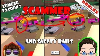 Roblox - Lumber Tycoon 2 - Scammer Tries to Glitch Pink Car, and Rails