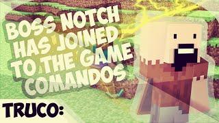 Comando - INVOCAR A  NOTCH  - 1.8 Minecraft
