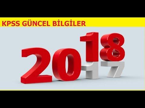 2018 KPSS VATANDAŞLIK GÜNCEL BİLGİLER TÜM KONULAR BURADA