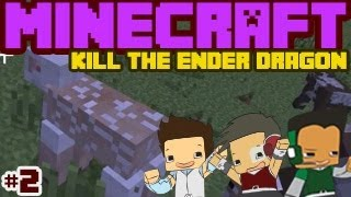 Minecraft - Kill the Ender Dragon #2 - Everybody Naked