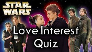 Find out YOUR Star Wars LOVE INTEREST! - Star Wars Quiz