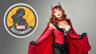 Cosplayer Yaya Han becomes Scarlet Witch – Marvel Becoming