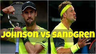 Steve Johnson vs Tennys Sandgren | FINAL Houston 2018 Highlights HD