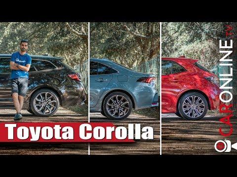 MELHOR TOYOTA COROLLA 2019 para ti Touring Sport, Sedan ou Hatchback? [Review Portugal]
