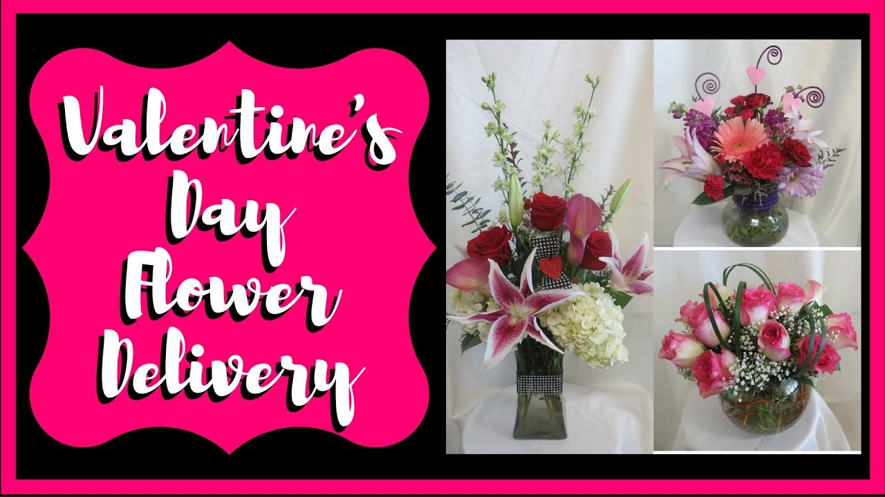 valentines day flower delivery same day flowers delivered in houston pasadena clear lake tx youtube - Valentine Flower Delivery