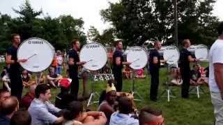 Bluecoats 2015 Drumline - Double D