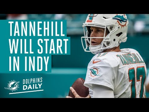 Tannehill set to return against the Colts | Dolphins Daily