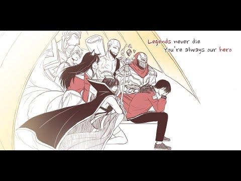 Legends Never Die / Cheer up Faker, cheer up SKT