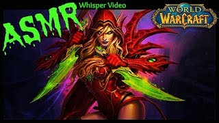 ASMR | World of Warcraft | Arathi Basin & Stratholme as Rogue: Whisper, Gum Chewing, & Gaming Sounds