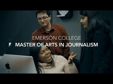 Journalism Graduate Program At Emerson College