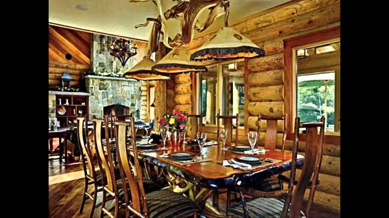 Log Home Decorating Ideas Youtube