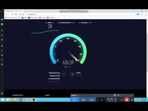 ReyoGroup Interactive - Speedtest #01 [Frankfurt - Cluj-Napoca]