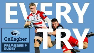 EVERY Try From Round 4! | Every Single Try | Gallagher Premiership Rugby 2019/20