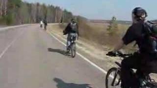 Камера с велосипеда(Съемка Cfif на камеру Gremlin., 2008-04-08T19:20:10.000Z)
