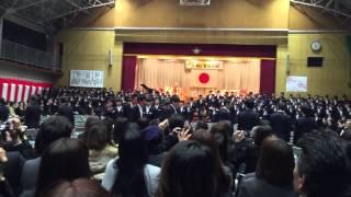 輝卒業式 武山中学校4