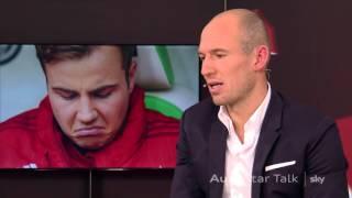 Arjen Robben über Mario Götze