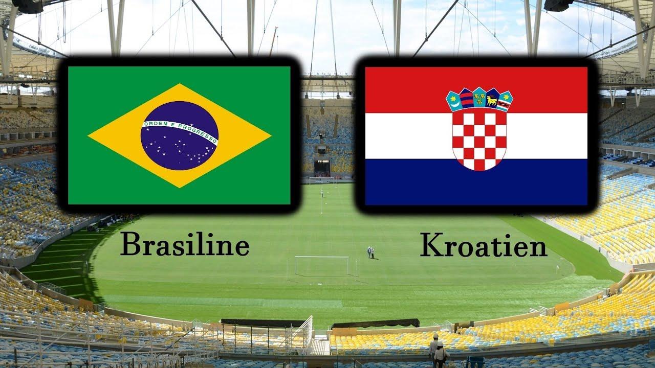 Brasilien Vs Kroatien