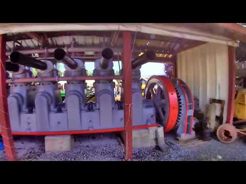 450 Hp 1930 Fairbanks Morse Diesel Engine Startup