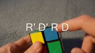 how to solve a 2x2 rubik s cube