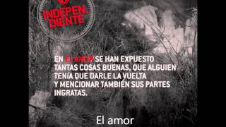 EL amor (independiente) (ricardo arjona)