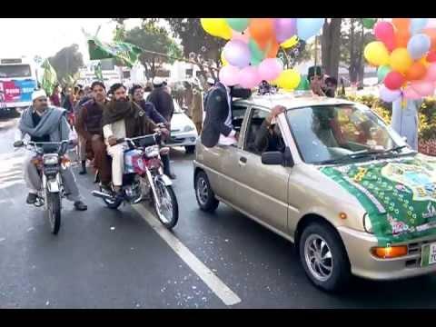 Eid Milad-un-Nabi Juloos 2012 in Wapda Town Gujranwala (Part 1/5)