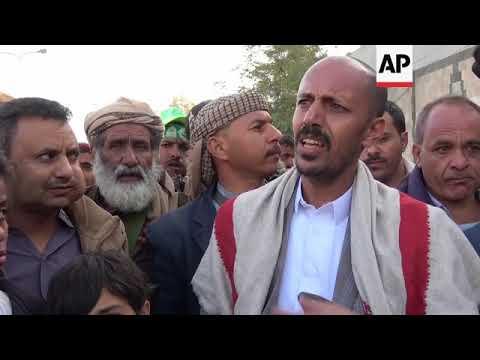 Houthi rebels celebrate killing of former president Saleh