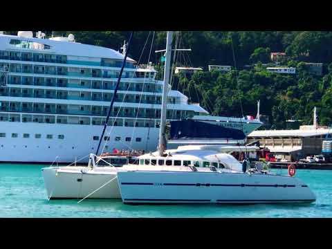 Seabourn Odyssey Luxury Cruise Ship - Saint Lucia Yachts of Seabourn Cruise Line
