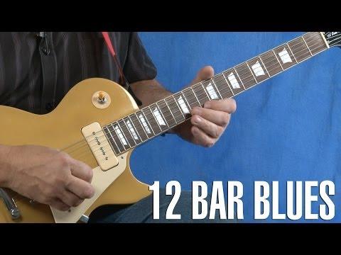 12 Bar Blues Guitar Lesson