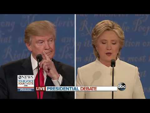 3rd Presidential Debate Highlights | Trump, Clinton on National Debt