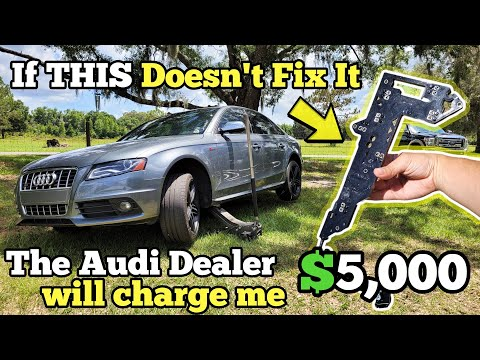 Can I Fix my Broken Supercharged Audi before the Dealer Charges me $5,000?
