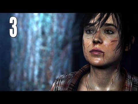 "Beyond: Two Souls Gameplay Walkthrough - Part 3 ""Welcome To The CIA"" (Let's Play, Playthrough)"