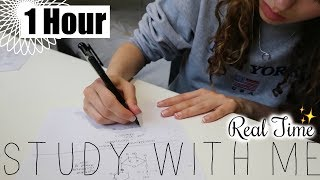 Real Time Study with Me - Exam Season ✍️ Motivation to Revise for 1 Hour