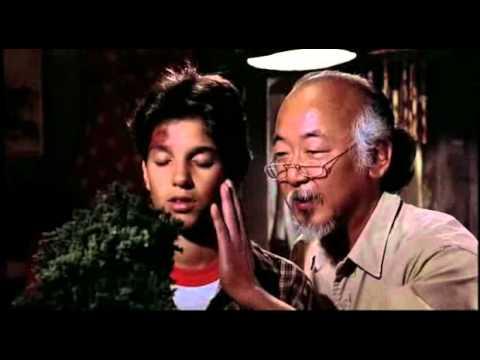 Karate Kid Scena Bonsai Youtube