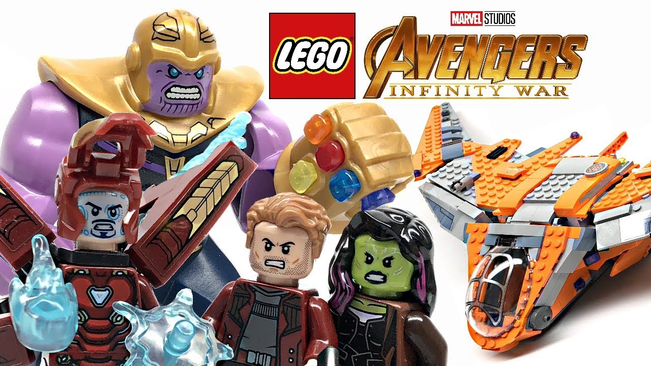 Lego Avengers Infinity War Thanos Ultimate Battle Review