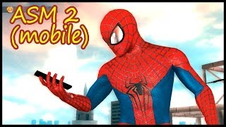 первые минуты the Amazing Spider-man 2 (мобильная версия)