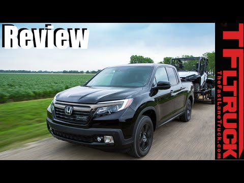 2017 Honda Ridgeline Review Is This New Honda A Car Truck Or