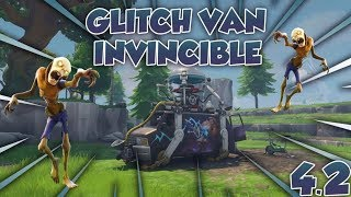 GLITCH VAN INVINCIBLE ONLY (PATCH) - FORTNITE SAUVER THE WORLD