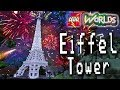 Designing and Building in Lego Worlds: Let's Build the Eiffel Tower 10181 for New Year's Eve!