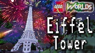 LEGO Eiffel Tower 10181 Speed Build