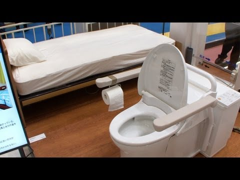 Toto Invents a Toilet That Travels to You