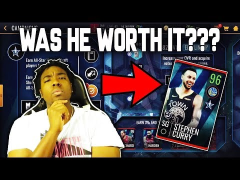 95 OVR ALL STAR CURRY COMPLETE!!! ROAD TO THE TOP NBA LIVE MOBILE 19 EP. 33!!!