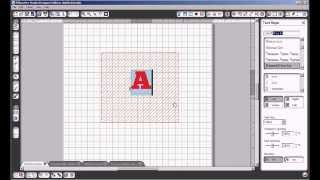 Tutorial Silhouette - How To Fill A Letter With A Cuttable Pattern Using Silhouette Studio