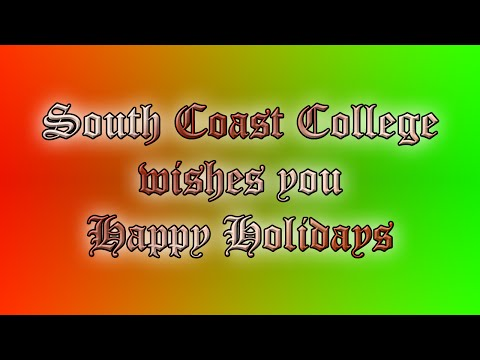 South Coast College Court Reporting Holiday Video (Part 2)